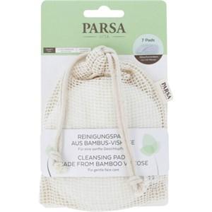 Parsa Beauty - Gesichtspflege - Reinigungspads aus Bambus