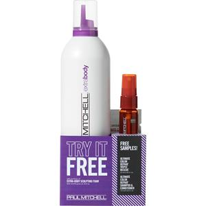 Paul Mitchell - Extra Body - Sculpting Foam Try It Free-Set