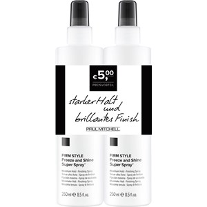 Paul Mitchell - Save on Duo's - Freeze Shine Super Spray Duo Set