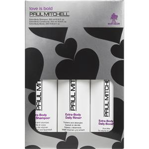 Image of Paul Mitchell Aktionsartikel Sets Extra-Body Holiday Gift Set Trio Extra-Body Daily Shampoo 300 ml + Extra-Body Daily Boost 250 ml + Extra-Body Daily Rinse 300 ml 1 Stk.