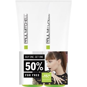 Image of Paul Mitchell Aktionsartikel Sets Straight Works Duo 2 x Straight Works 200 ml 1 Stk.