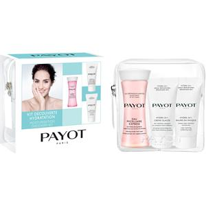 Payot Pflege Hydra 24+ Summerkit Eau Micellaire Express 30 ml + Hydra 24+ Crème Glacée 15 ml + Hydra 24+ Baume en Masque 15 ml 1 Stk.
