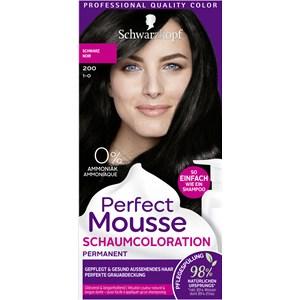 Perfect Mousse - Coloration - 1-0/200 Schwarz Stufe 3 Perfect Mousse Schaum-Coloration