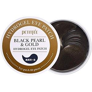 Petitfée - Patches - Black Pearl & Gold Hydrogel Eye Patch