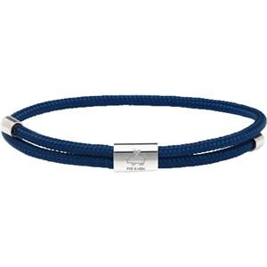 Pig & Hen - Rope Bracelets - Navy | Silver Little Lewis