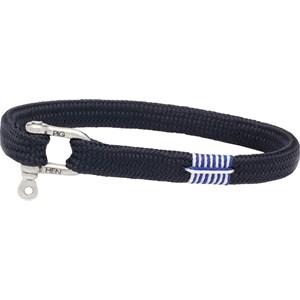 Pig & Hen - Rope Bracelets - Navy | Silver Vicious Vik