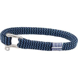 Pig & Hen - Rope Bracelets - Navy-Violet Blue | Silver Vicious Vik