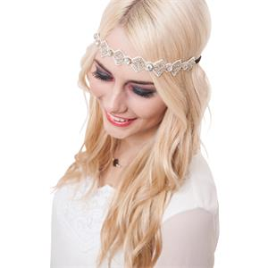 Pink Pewter - Haarsieraden - Lily Crystal