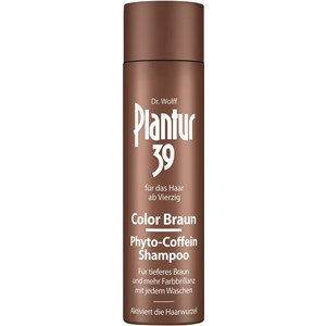 Plantur - Plantur 39 - Color marrón Phyto-Coffein Shampoo
