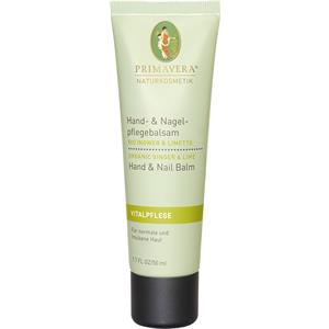 Primavera - Energizing ginger and lime - Ginger Lime Hand & Nail Care Balm