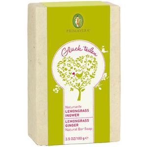Primavera - Energizing ginger and lime - Natural Lemongrass Ginger Soap