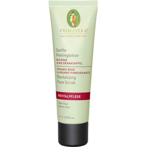 Primavera - Revitalizing rose and pomegranate - Gentle Peeling Lotion