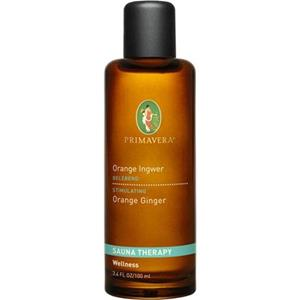 Primavera Health & Wellness Sauna Therapy Aroma Sauna Orange Ingwer 100 ml