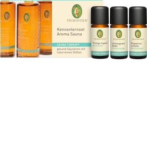 Primavera Health & Wellness Sauna Therapy Kennenlernset Aroma Sauna 1 Stk.