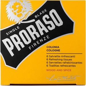 Proraso - Wood & Spice - Erfrischungstücher