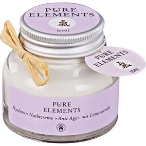 Image of Pure Elements Pflege Anti-Age Serie Nachtcreme 50 ml