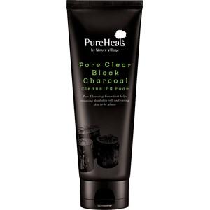 PureHeals - Black Charcoal - Cleansing Foam