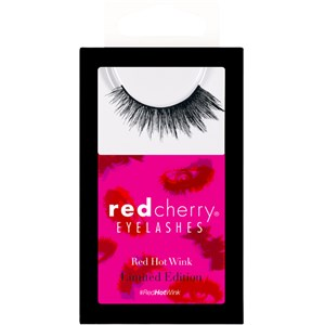 Red Cherry - Eyelashes - Red Hot Wink Shadow Effect Lashes