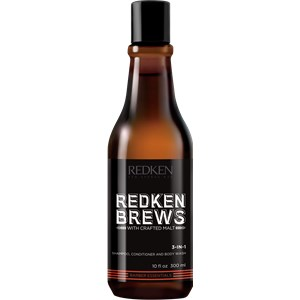 Redken - Brews - 3-in-1 Shampoo, Conditioner and Body Wash