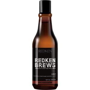 Redken - Brews - 3-in-1 Shampoo, Conditioner and Body Wash