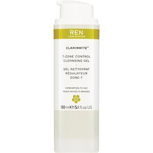 Ren Skincare - Clarimatte - T-Zone Control Cleansing Gel