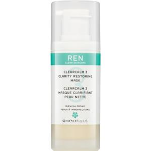 Ren Skincare Pflege Face ClearCalm Anti-Blemish Treatment Mask 50 ml