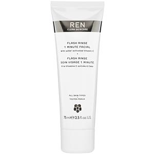 Image of Ren Skincare Anti-Aging Pflege Flash 1 Minute Facial 75 ml
