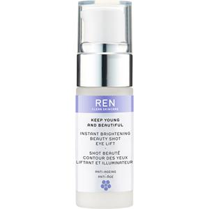 Image of Ren Skincare Anti-Aging Pflege Keep Young And Beautiful Instant Brightening Beauty Shot Eye Lift 15 ml
