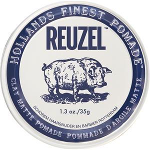 Reuzel - Styling - Clay Matte Pomade Pig
