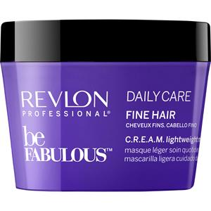 Image of Revlon Professional Haarpflege Be Fabulous Daily Care Fine Hair C.R.E.A.M. Lightweight Mask 500 ml