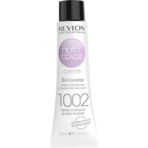 Revlon Professional - Nutri Color Creme - 1002 Platinweiss