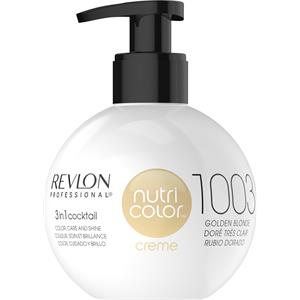 Revlon Professional Haarpflege Nutri Color Creme 1003 Hellgold 100 ml