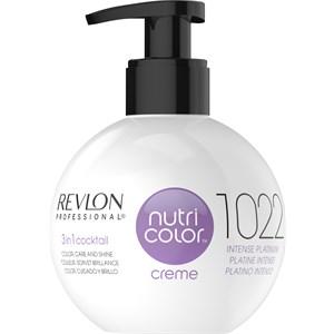 Nutri Color Creme 1022 Intensive Platinum Van Revlon Professional