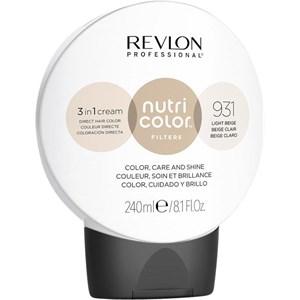 Revlon Professional - Nutri Color Filters - 931 Light Beige