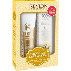 Revlon Professional - Revlonissimo 45 Days - Revlonissimo Dream Team Set Golden Blondes