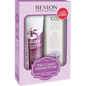 Revlon Professional - Revlonissimo 45 Days - Revlonissimo Dream Team Set Ice Blondes