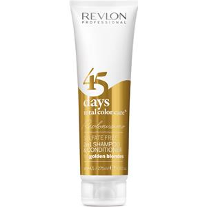 Revlon Professional - Revlonissimo 45 Days - Shampoo & Conditioner Golden Blondes