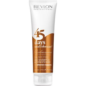 Revlon Professional - Revlonissimo 45 Days - Shampoo & Conditioner Intense Coppers
