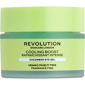 Revolution Skincare - Augenpflege - Cooling Boost Cucumber Eye Gel