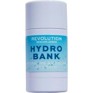Revolution Skincare - Augenpflege - Hydro Bank Hydrating & Cooling Eye Balm