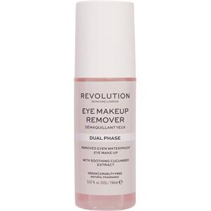 Revolution Skincare - Gesichtsreinigung - Eye Makeup Dual Phase Remover