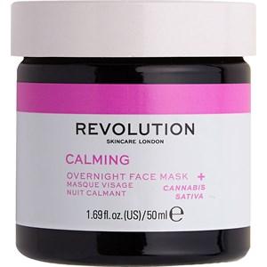 Revolution Skincare - Masken - Calming Overnight Face Mask