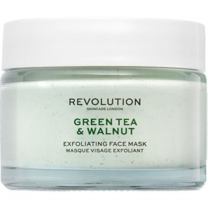 Revolution Skincare - Masken - Green Tea & Walnut Exfoliating Face Mask