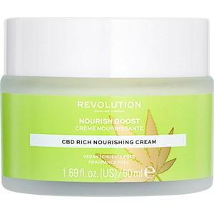 Revolution Skincare - Moisturiser - Nourish Boost CBD Rich Nourishing Cream