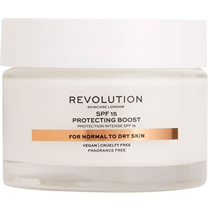 Revolution Skincare - Moisturiser - Protecting Boost For Normal To Dry Skin