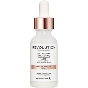Revolution Skincare - Seren und Öle - 5% Caffeine Solution + Hyaluronic Acid Targeted Under Eye Serum