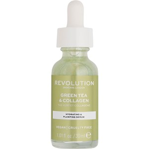 Revolution Skincare - Seren und Öle - Green Tea & Collagen Hydrating & Plumping Serum