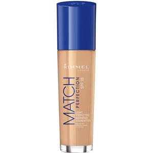Image of Rimmel London Make-up Gesicht Match Perfection Foundation Nr. 400 Natural Beige 33 ml