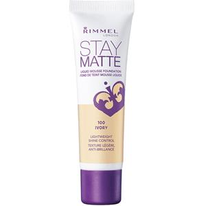Image of Rimmel London Make-up Gesicht Stay Matte Liquid Foundation Nr. 300 Sand 30 ml