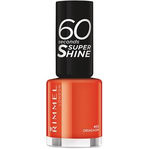 Image of Rimmel London Make-up Nägel 60 Seconds Supershine Nailpolish Nr. 313 Rita Rouge 8 ml